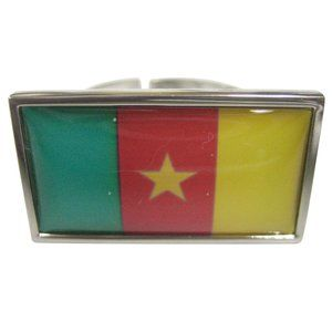 Cameroon Flag Fashion Ring